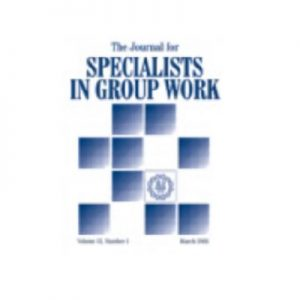 journal of specialists in group work logo